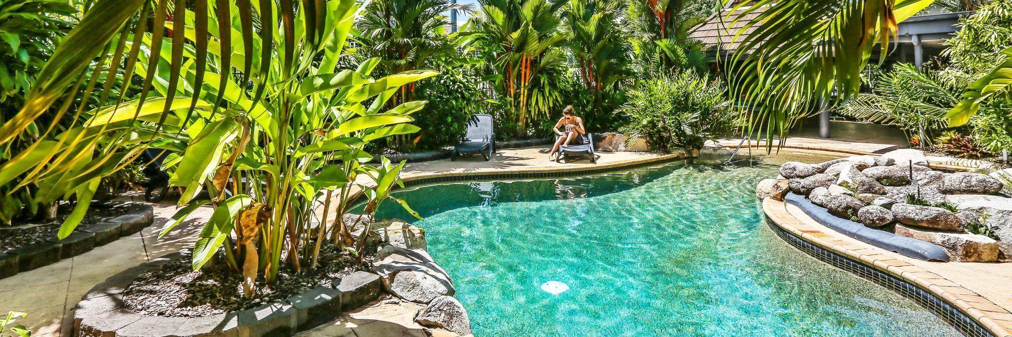 cairns accommodation cascade gardens